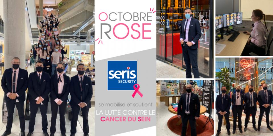 SERIS Security soutient Octobre Rose
